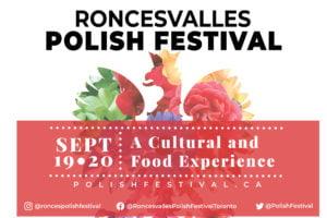 Roncesvalles Polish Festival Poster for 2020